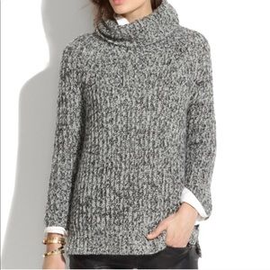 Madewell Cowl Neck Wool Sweater Size Small